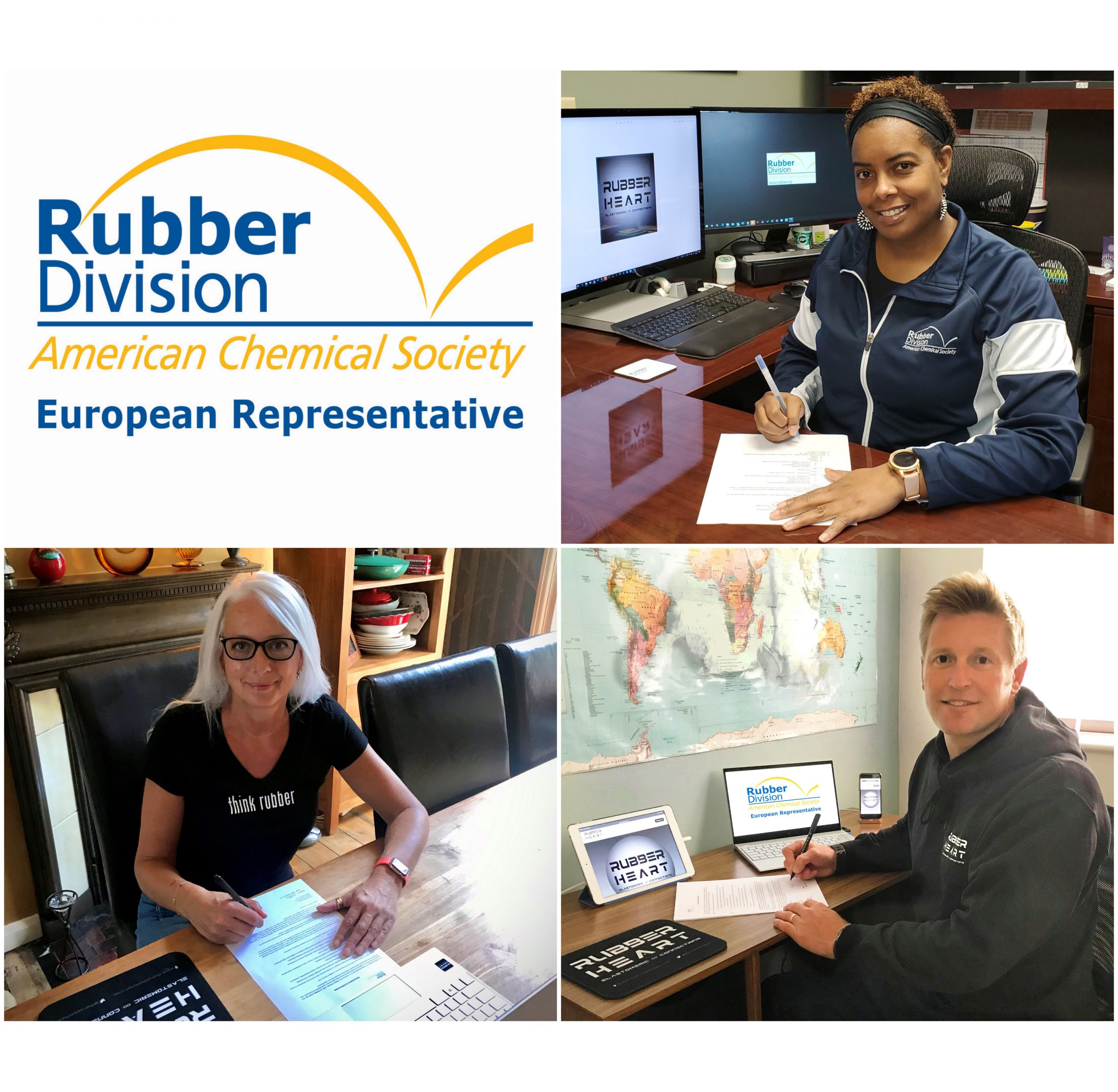 Rubber Heart + Rubber Division, ACS Sign MoU