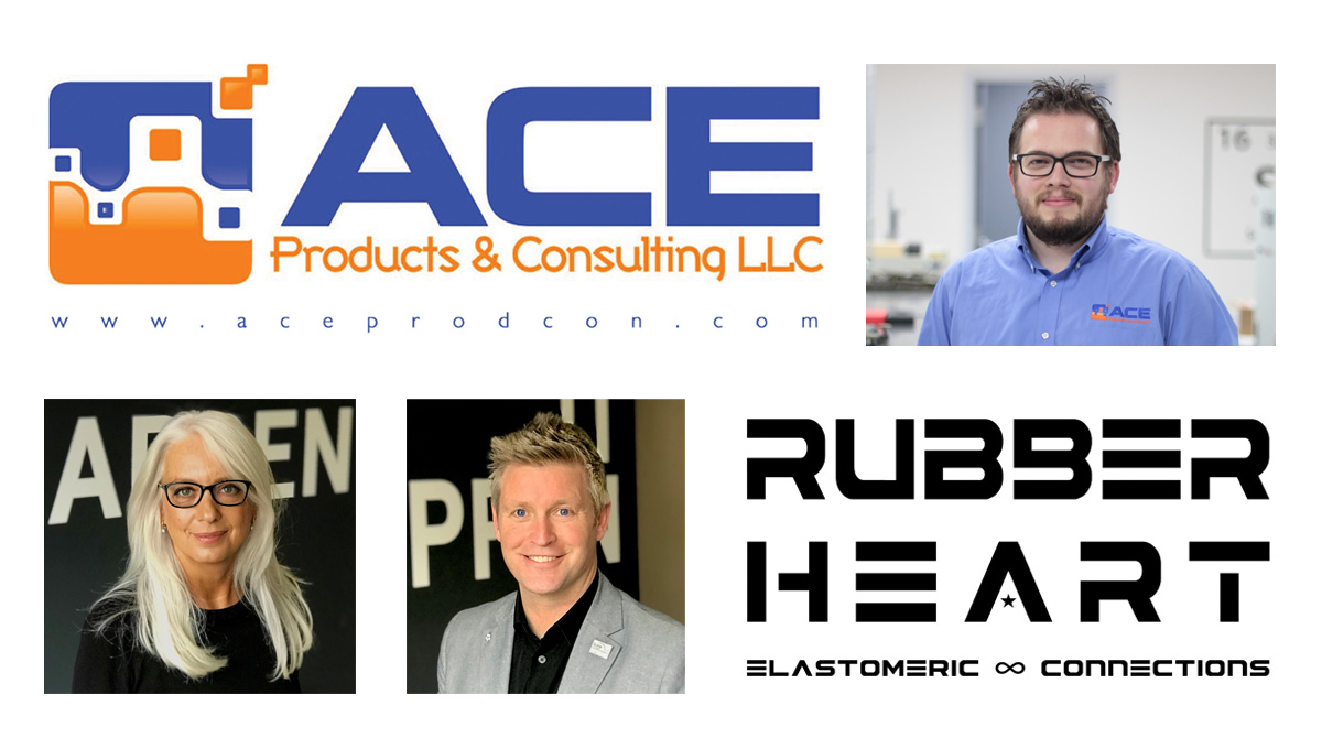 ACE Products & Consulting appoints Rubber Heart new International Marketing Partner