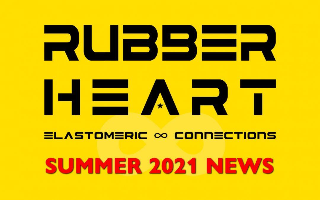Rubber Heart Summer 2021 News