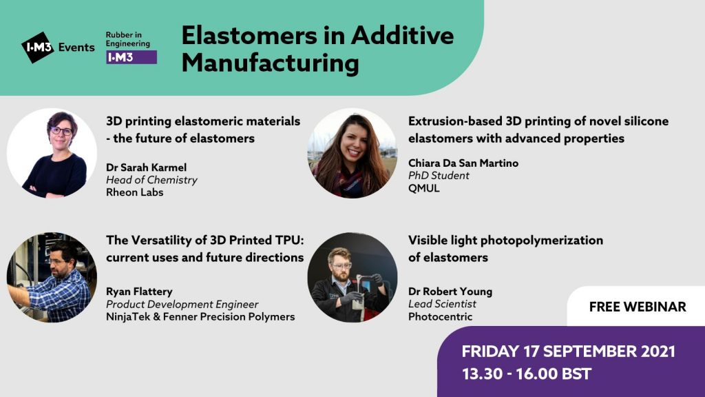 Elastomers in Additive Manufacturing
